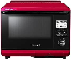 シャープ ヘルシオ 26L 1段調理タイプ レッド系 AX-AS500-R