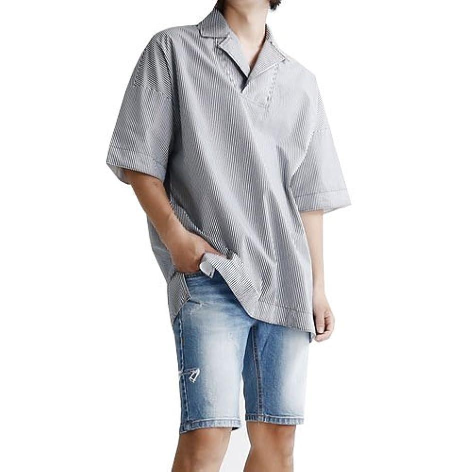 オリエンテーションバーマド援助【MSB】4color オーバーサイズシャツ