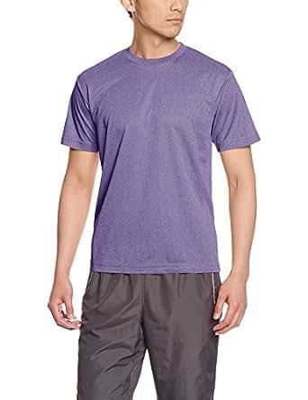 [グリマー] 半袖 4.4oz ドライTシャツ (クルーネック) 00300-ACT ミックスパープル S (日本サイズS相当)