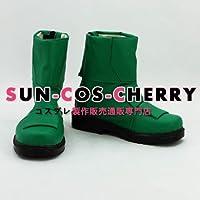 【サイズ選択可】コスプレ靴 ブーツ K-704 スーパー戦隊シリーズ 獣拳戦隊ゲキレンジャー 女性23.5CM