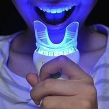 Teeth Whitening Kit - 15 Treatments - 7 LED Sonic Massage Mini Light - Hi bright New Smile