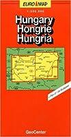 Hungary Map (GeoCenter Euro Map)