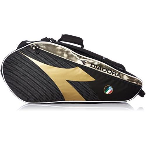 [ディアドラ] テニス ラケットバッグ DTB7680 ラケットバッグ6 DTB7680 99 ブラック
