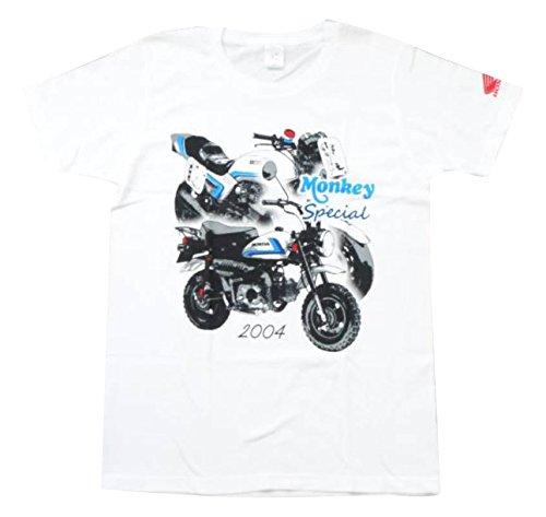 [해외]Honda (혼다) 몽키 750F 컬러 T 셔츠 0SYEP-X5W-WF/Honda (Honda) Monkey 750 F Color T-shirt 0 SYEP-X 5 W-WF