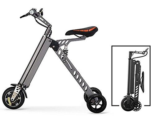 3 Wheel Foldable Electric Bike, Alumin...