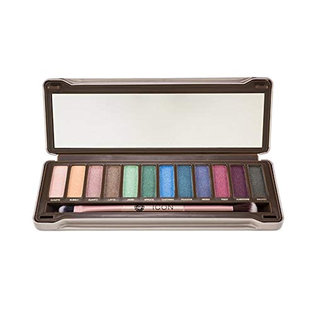 正しく従事する試してみる(3 Pack) ABSOLUTE Icon Eyeshadow Palette - Noir Garden (並行輸入品)