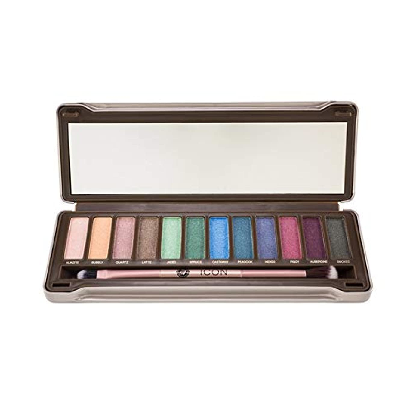 (3 Pack) ABSOLUTE Icon Eyeshadow Palette - Noir Garden (並行輸入品)