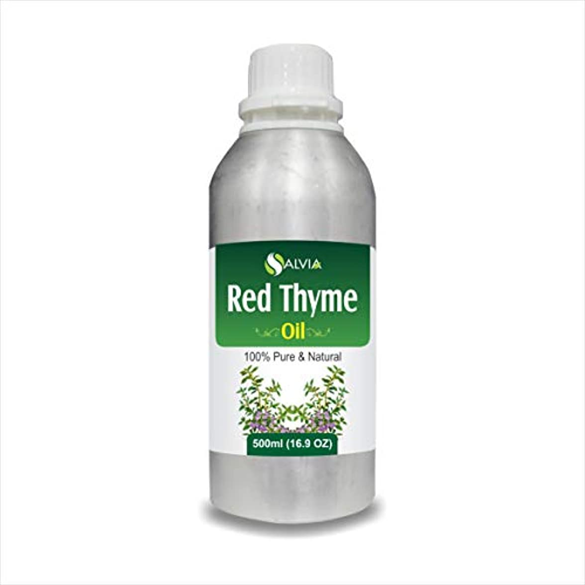あさり蚊抑止するRED Thyme Oil (Thymus VULGARIS) 100% Natural Pure Essential Oil (500ml)