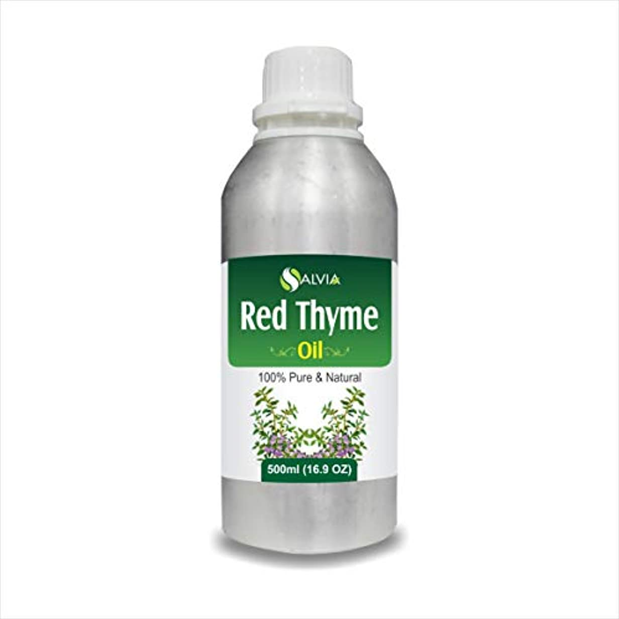 プレーヤーモーテル作成するRED Thyme Oil (Thymus VULGARIS) 100% Natural Pure Essential Oil (500ml)