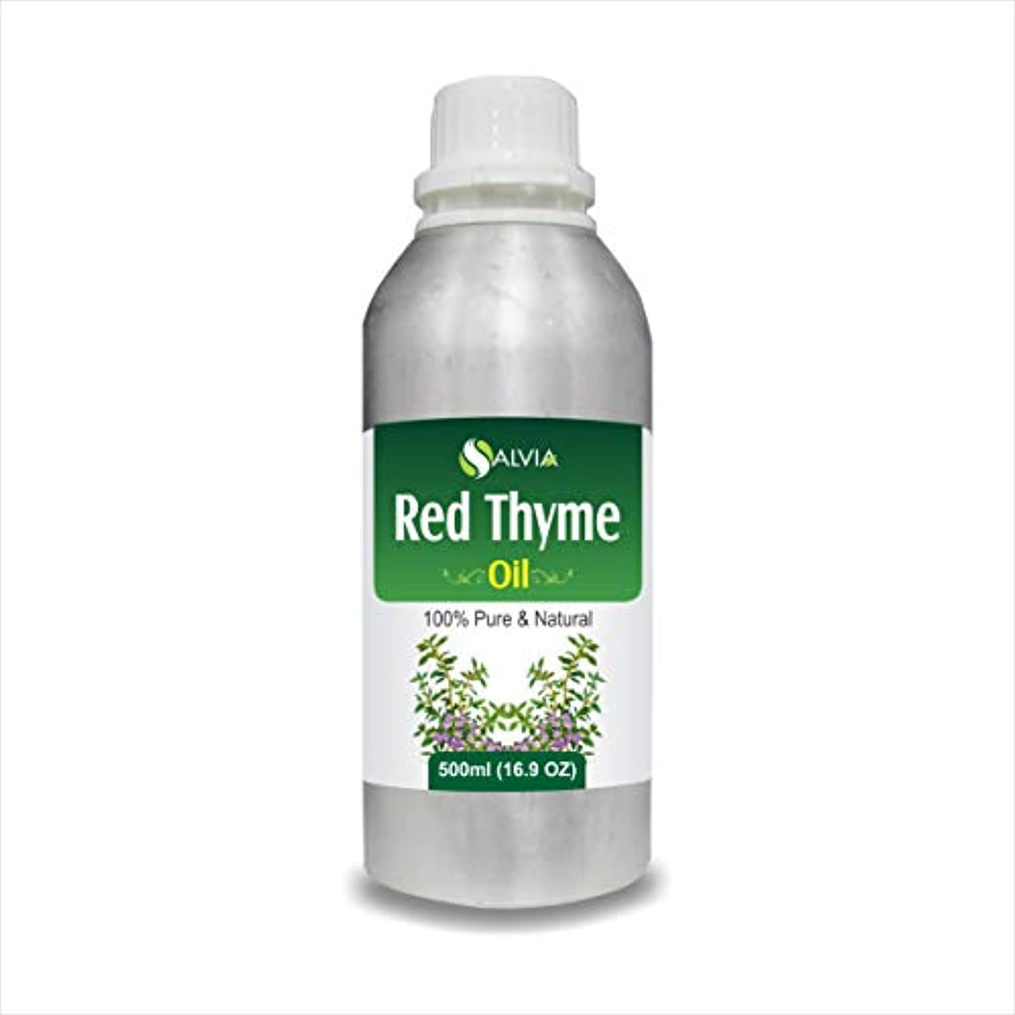 悪名高いラッカス正しくRED Thyme Oil (Thymus VULGARIS) 100% Natural Pure Essential Oil (500ml)