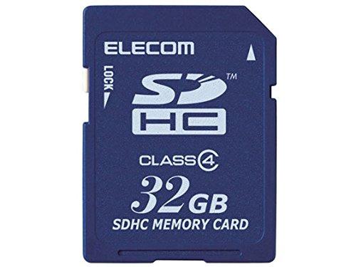 エレコム データ復旧SDHCカード/Class4/32GB/...