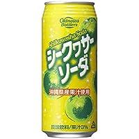 シークヮーサーソーダ 500ml缶 24本(1ケース)