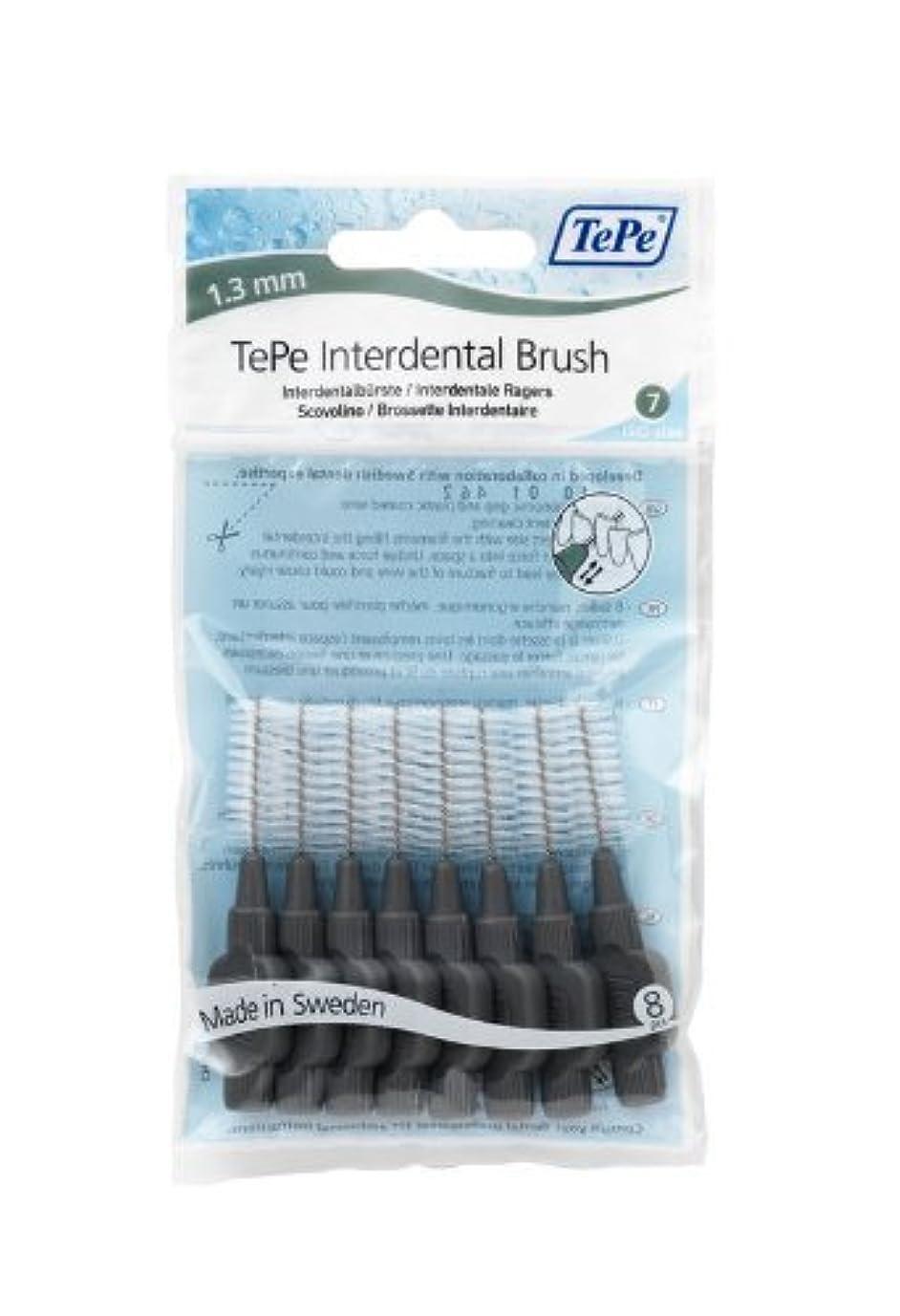 微生物リーダーシップ女王TePe Interdental Brushes Original Grey 8 Brushes by TePe