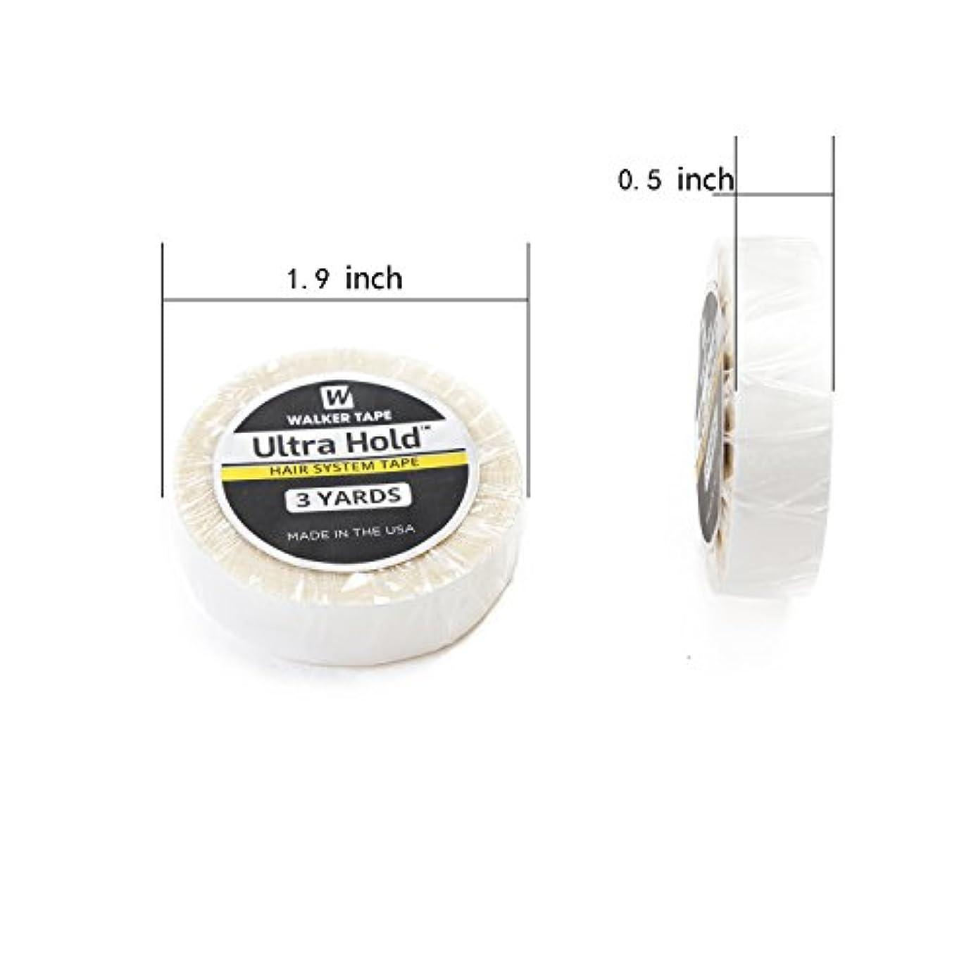 自信がある海汚すNeitsi(ネイティス)かつら用両面テープ ウルトラホールドロールテープ ULTRA HOLD TAPE 強力両面テープ ウィッグ用両面テープ 1個1.27cm白