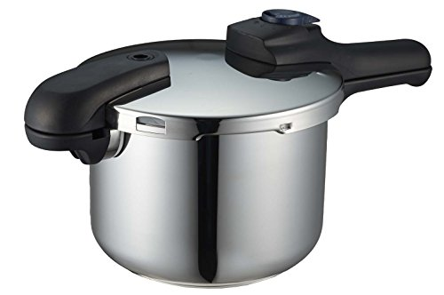 パール金属 圧力鍋 4.5L IH対応 3層底 切り替え式 レシピ付 クイックエ...