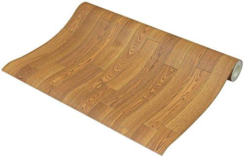 フリーカット 敷くだけリメイク床シート 木目 ナチュラル 約90×250cm
