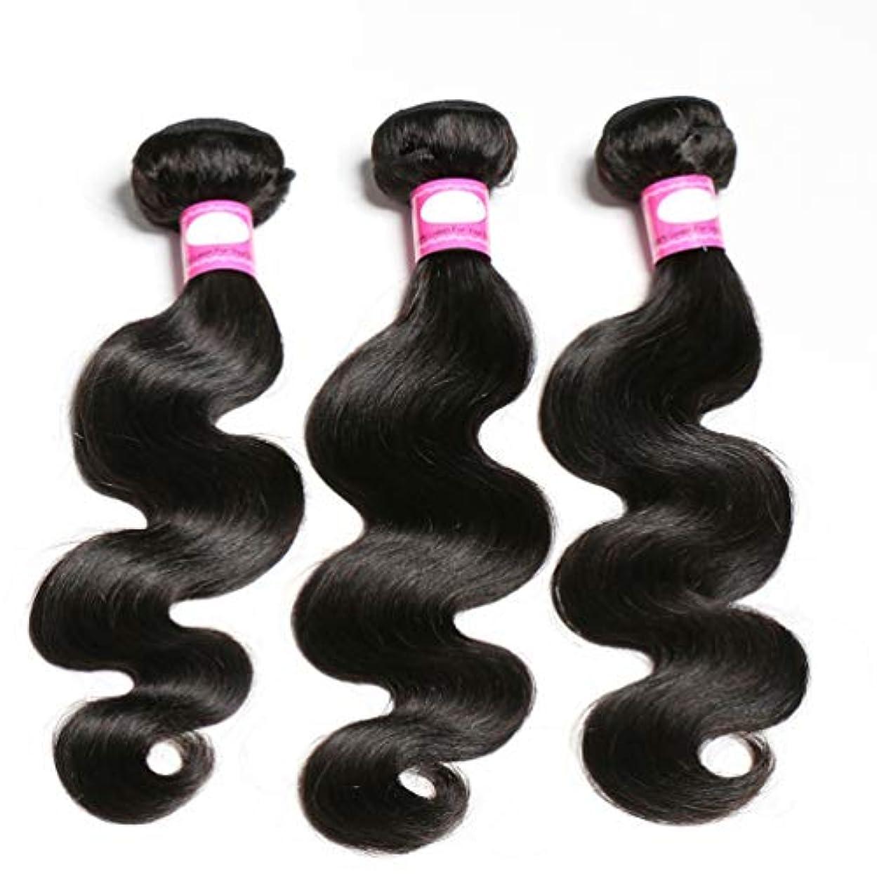 敬意を表するにじみ出る可能にするブラジルの巻き毛の束深い波の束100%ブラジルのレミーの巻き毛の人間の毛髪の織り方ブラジルの毛の束(3束)