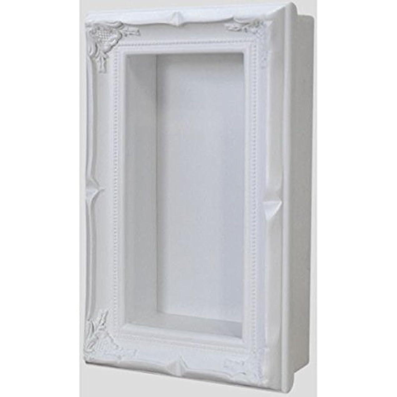フェザー送ったフォアマンデコール立体ボックス ホワイト200×100