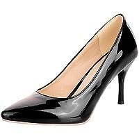 IDIFU Women's Pumps Heels Stiletto Office Shoes