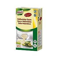 [Knorr ] クノール前衛ドールオランデーズソースの1リットル - Knorr Garde d'Or Hollandaise Sauce 1L [並行輸入品]