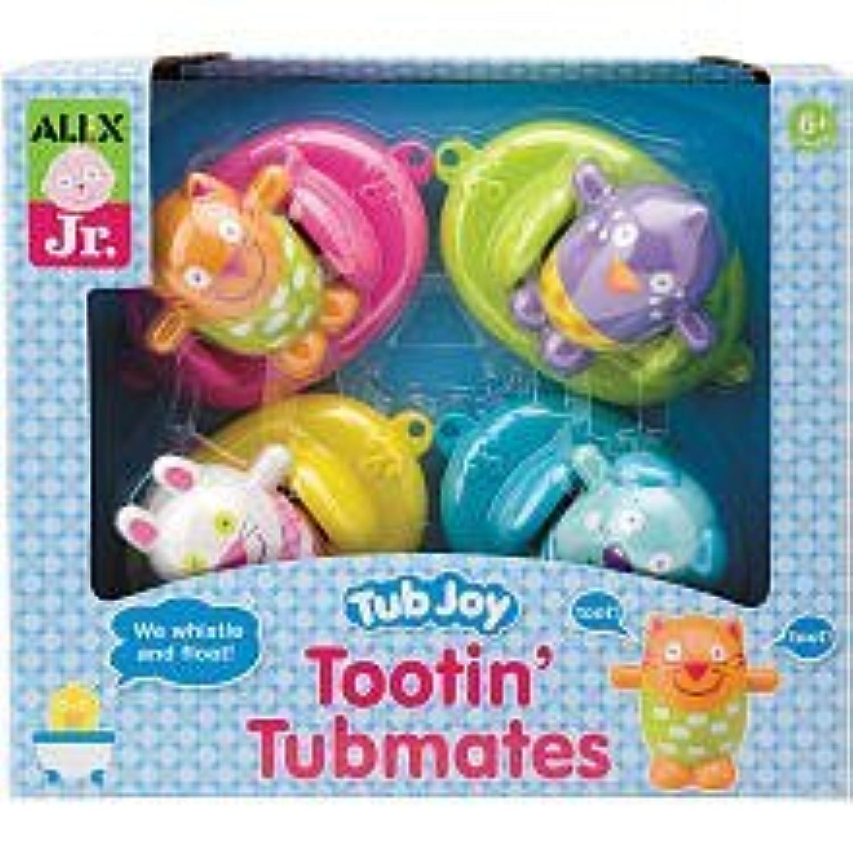 ALEX Toys ALEX Jr. Tub Joy Tootin Tubmates 1835 by ALEX Toys [並行輸入品]