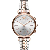 Emporio Armani Women's ART3018 Smart Digital Silver Watch