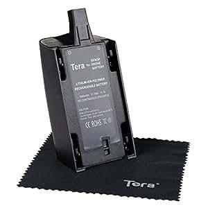 Tera® Parrot Bebop drone3.0用 リチウム電池 互換バッテリー 1600mAh 11.1V