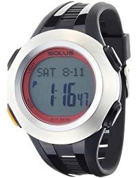 [ソーラス]SOLUS 腕時計 心拍計測機能付 PRO 101(プロ 101) シルバー×ブラック 01-101-02 【正規輸入品】