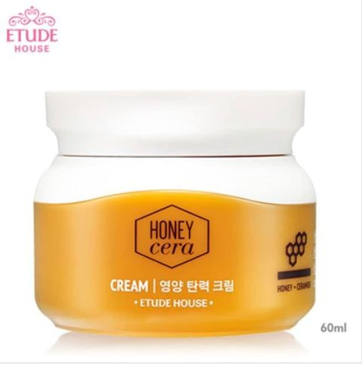 キネマティクス民族主義同級生[エチュードハウス] ETUDE HOUSE [ハニーセラ 栄養弾力 クリーム 60ml](Honey Sarah nutrition elastic Cream 60ml) [並行輸入品]