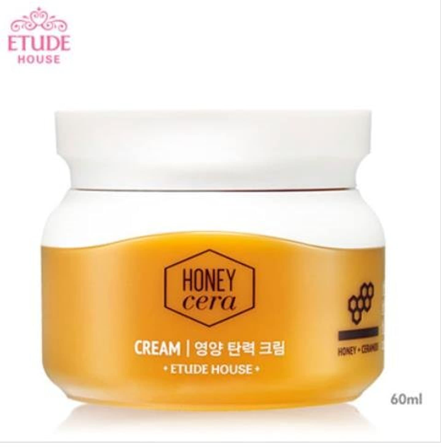 製造業従者獲物[エチュードハウス] ETUDE HOUSE [ハニーセラ 栄養弾力 クリーム 60ml](Honey Sarah nutrition elastic Cream 60ml) [並行輸入品]