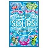 ノーベル製菓 宝石サワーズ(SOURS) ジュエルソーダ 45g×6袋入×(2ケース)