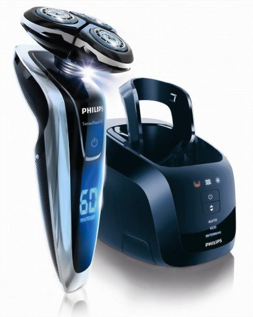 広告スロットシャーPHILIPS 3Dシェーバー【洗浄充電器付】センソタッチ3D RQ1280CC
