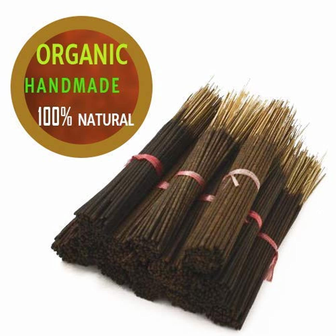 師匠マリン厚くするYajna Frankincense And Myrrh 100% Natural Incense Sticks Handmade Hand Dipped The Best Woods Scent (500 Pack-100...