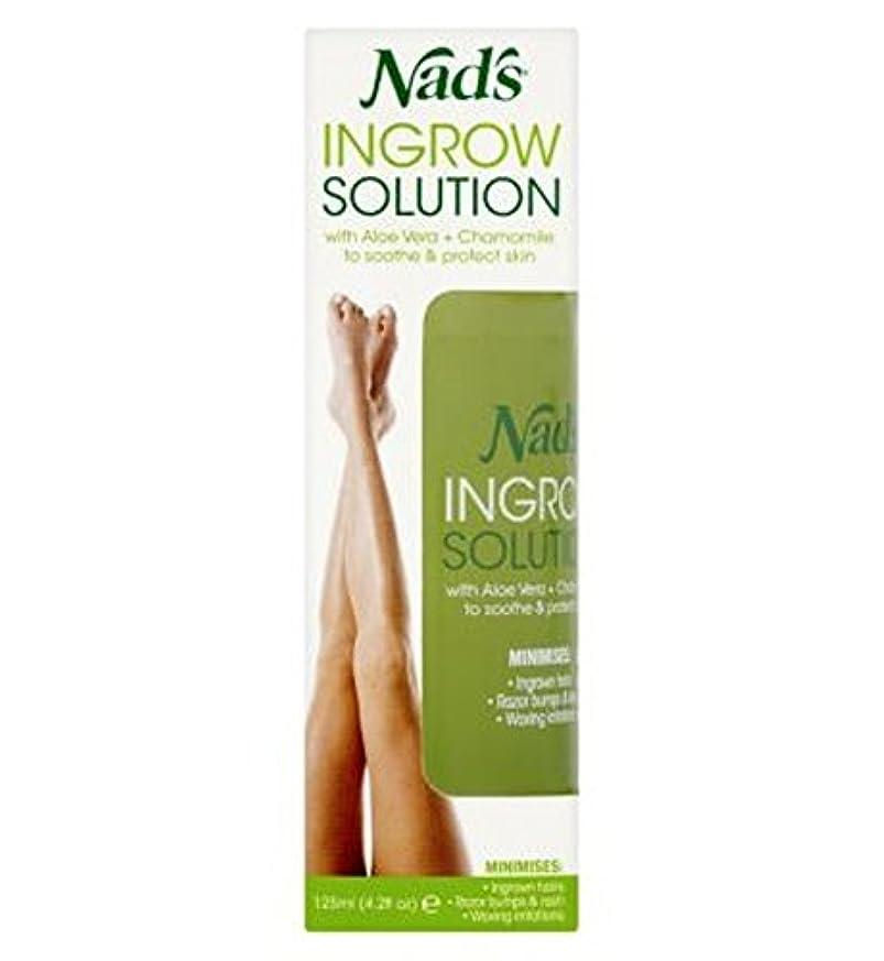 寝る見落とす和らげるNad's Ingrow Solution - ナドの内部に成長するソリューション (Nad's) [並行輸入品]