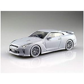 青島文化教材社 1/32 ザ・スナップキットシリーズ ニッサン GT-R ブリリアントホワイトパール 塗装済みプラモデル 07-B