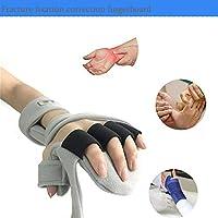 親指支持 - ユニバーサルデザインは、手根管、捻挫、ワンサイズのために右または左の手と調節可能な通気性ブレーススプリントに適合します,righthand