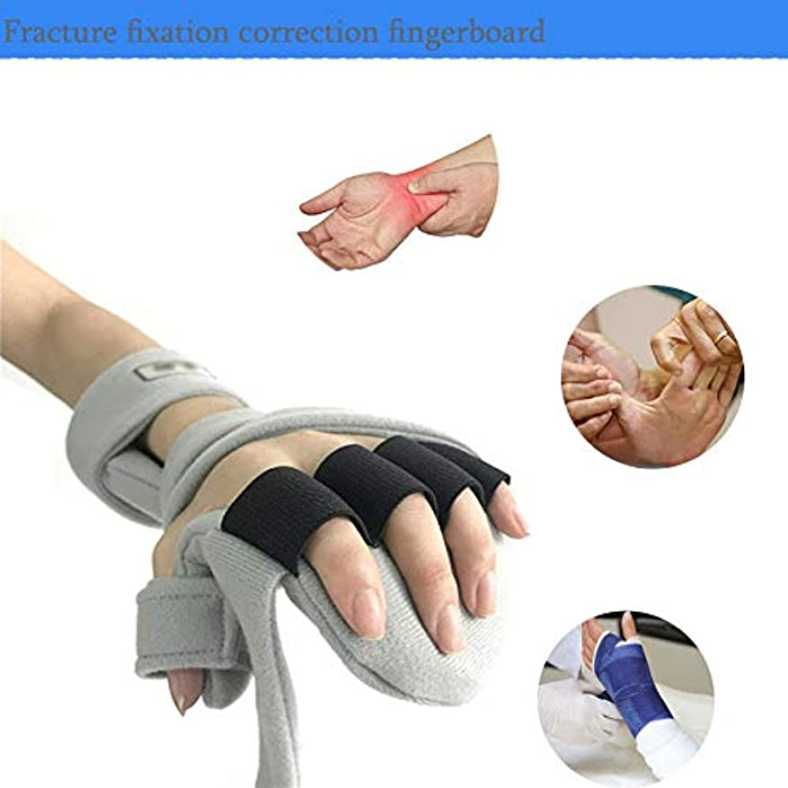 ワックス征服ペイン親指支持 - ユニバーサルデザインは、手根管、捻挫、ワンサイズのために右または左の手と調節可能な通気性ブレーススプリントに適合します