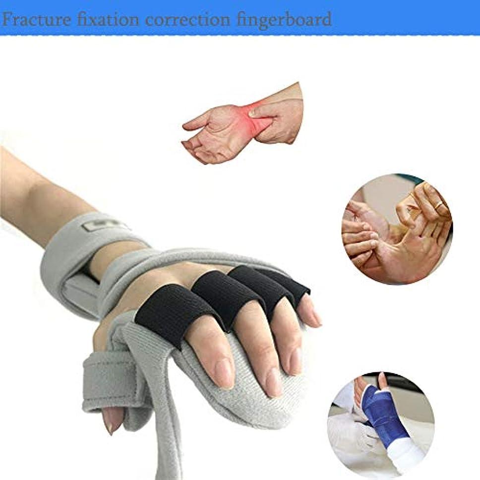 シンプルな石鹸強化する親指支持 - ユニバーサルデザインは、手根管、捻挫、ワンサイズのために右または左の手と調節可能な通気性ブレーススプリントに適合します