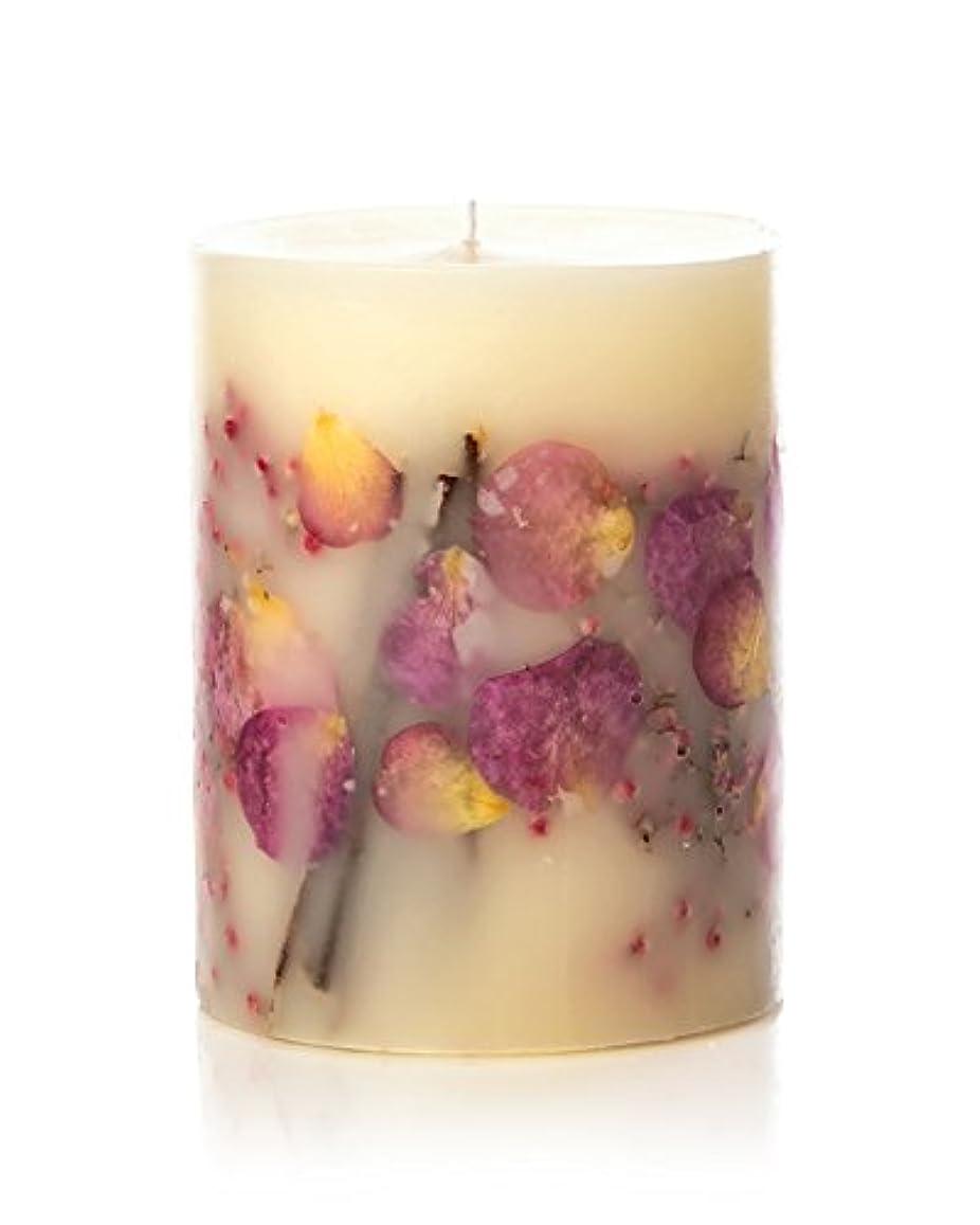 ここに横向き亡命ロージーリングス ボタニカルキャンドル ビッグラウンド アプリコット&ローズ ROSY RINGS Round Botanical Candle Big Round – Apricot Rose
