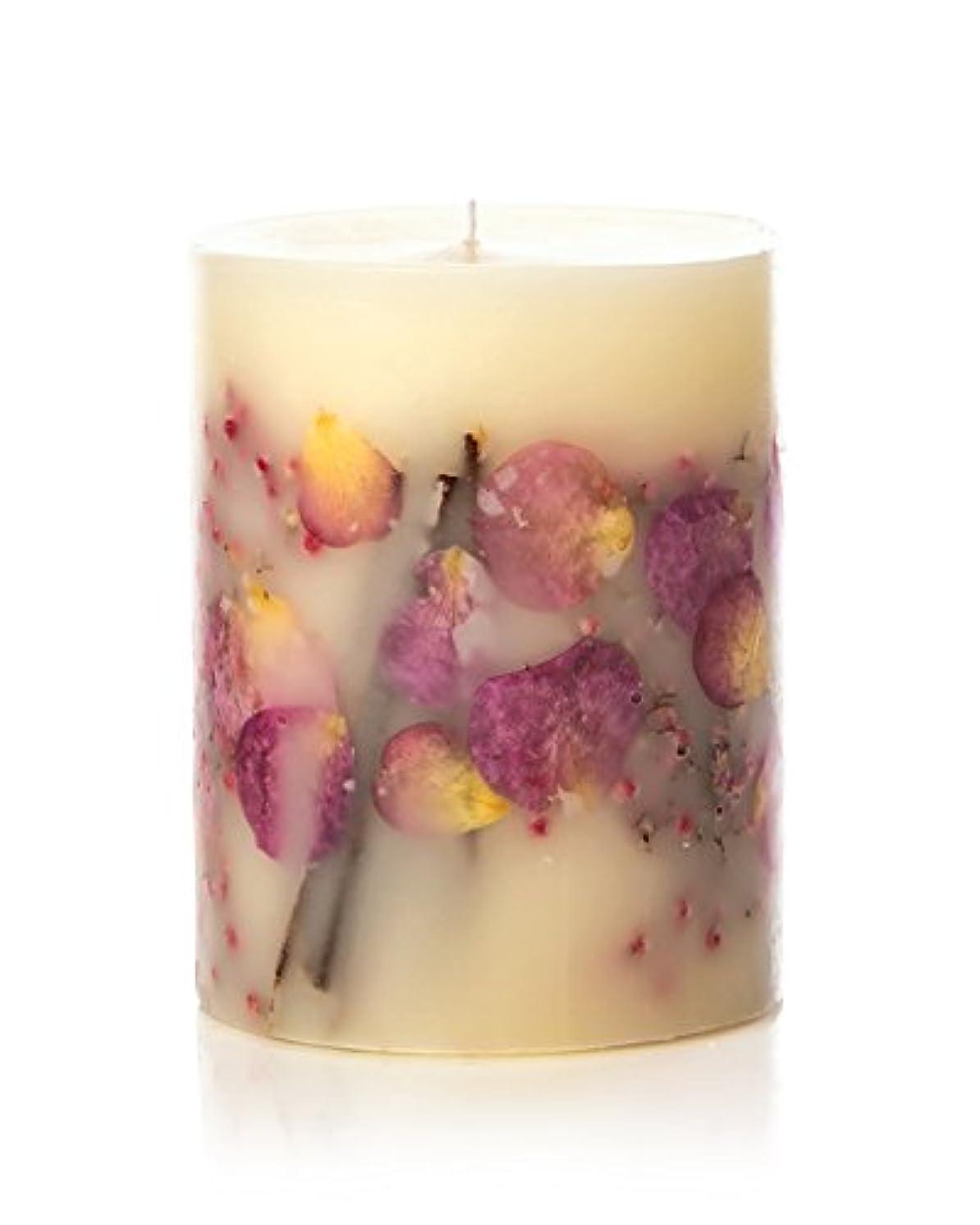 テクトニック運搬滴下ロージーリングス ボタニカルキャンドル ビッグラウンド アプリコット&ローズ ROSY RINGS Round Botanical Candle Big Round – Apricot Rose