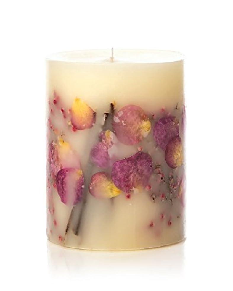 期間ママ潜在的なロージーリングス ボタニカルキャンドル ビッグラウンド アプリコット&ローズ ROSY RINGS Round Botanical Candle Big Round – Apricot Rose