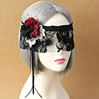 女性ブラックレースマスクパーティーボール仮面舞踏会仮装マスク