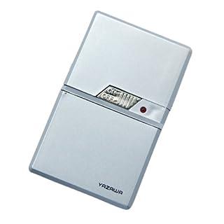 ヤザワ カード型ホットプレッサー 乾電池式 カスタネットタイプ TVR16SV