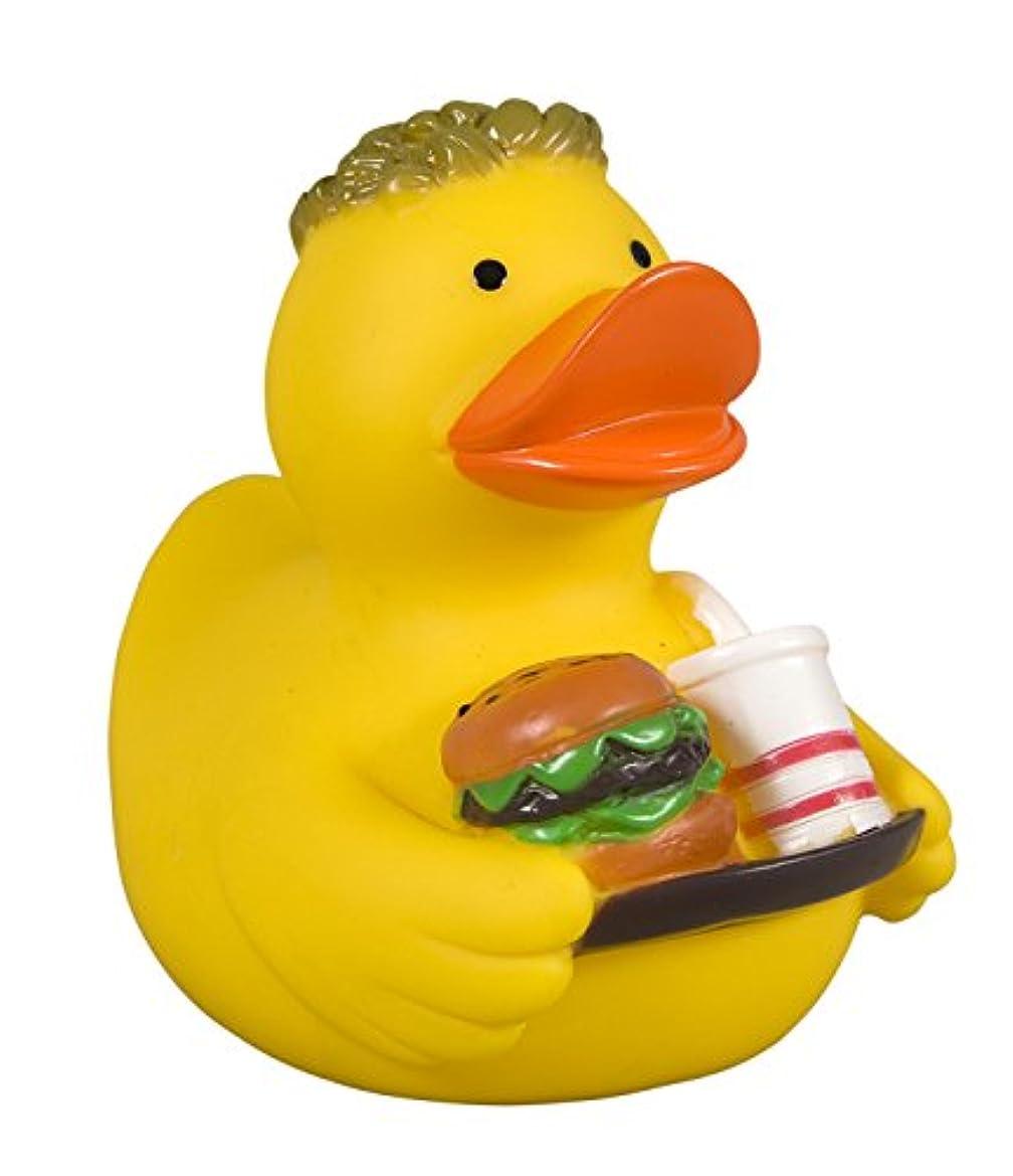 ハードどれでも雰囲気Rubber Duck Fast Food -  ゴム製のアヒル