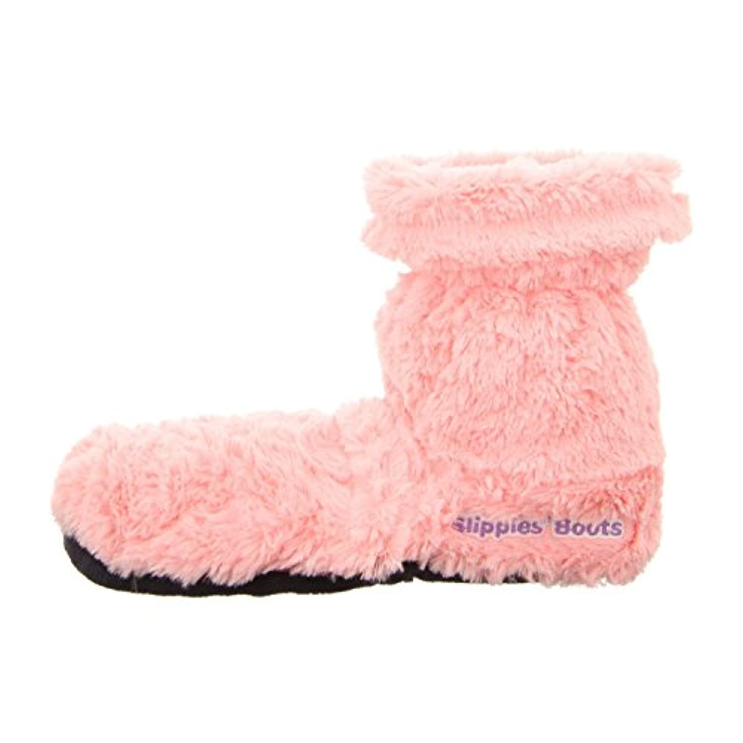Warmies Slippies Deluxe Boots Size 4 - 8 with Removable Filling Pink by Greenlife Value