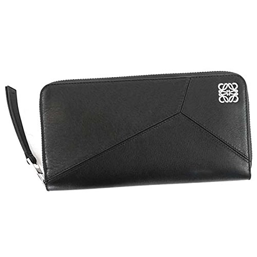 LOEWE(ロエベ) 長財布 PUZZLE BK 122N89.F13 ZIP AROUND WALLET PUZZLE BLACK [並行輸入品]