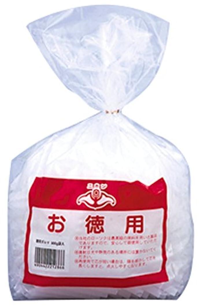 ハック司法褒賞ニホンローソク 徳用ダルマ 900g