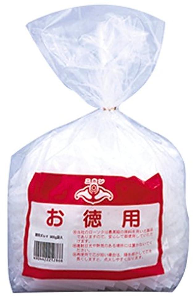 褐色散歩衣服ニホンローソク 徳用ダルマ 900g