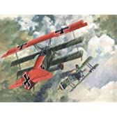 ローデン 1/72 独 フォッカー Dr.I 三葉戦闘機 WW-1 072T010