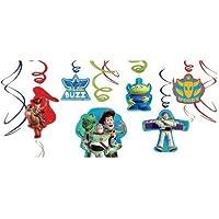 パーティーグッズ 【ディズニートイストーリー Swirl Decorations 】誕生日